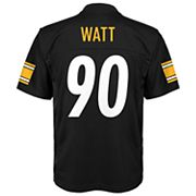 Boys 8-20 Pittsburgh Steelers T. J. Watt Replica Jersey