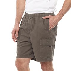 Big & Tall Croft & Barrow® Regular-Fit Twill Elastic Cargo Shorts