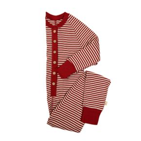 Kids 4-16 Burt's Bees Organic Holiday Patterned One-Piece Family Pajamas