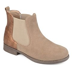 Journee Collection Sawyer Girls' Chelsea Boots