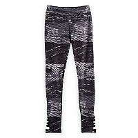 Girls 7-16 SO® Lattice High Rise Printed Leggings