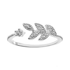 LC Lauren Conrad Open Leaf Ring