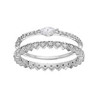 LC Lauren Conrad Crown & Marquise Ring Set