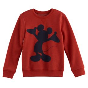 Disney's Mickey Mouse Boys 4-7x Silhouette Softest Fleece Pullover Sweatshirt by Jumping Beans®