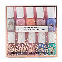 Simple Pleasures 10-pc. Snowflake Mini Nail Polish Set