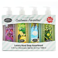 Simple Pleasures 4-pk. Customer Favorites Hand Soaps
