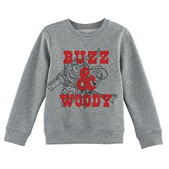 Disney / Pixar Toy Story Boys 4-7x Buzz & Woody Softest Fleece Pullover Sweatshirt by Jumping Beans®