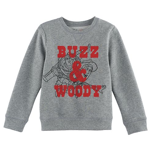 Disney / Pixar Toy Story Boys 4-7x Buzz & Woody Softest Fleece Pullover Sweatshirt by Jumping Beans®