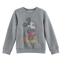 Disney's Mickey Mouse Boys 4-7x Faded Lines Softest Fleece Pullover Sweatshirt by Jumping Beans®