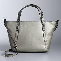 Simply Vera Vera Wang Studded Handle Mini Crossbody Tote