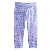 Girls 7-16 SO® Keyhole Ruched Yoga Capri Leggings