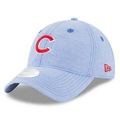 Women's New Era Chicago Cubs 9TWENTY Linen Adjustable Cap