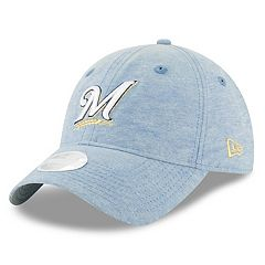 Women's New Era Milwaukee Brewers 9TWENTY Linen Adjustable Cap
