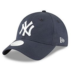 Women's New Era New York Yankees 9TWENTY Linen Adjustable Cap