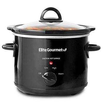 Elite Gourmet 3-qt. Slow Cooker