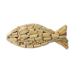 SONOMA Goods for Life™ Wood Fish Wall Decor