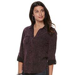 Women's Rock & Republic® Cuffed Shirt