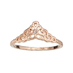 LC Lauren Conrad Filigree Ring