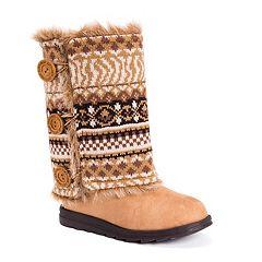 MUK LUKS Andrea Women's Reversible Boots