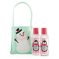 Simple Pleasures Berry Frost Body Lotion & Shower Gel Snowman Set