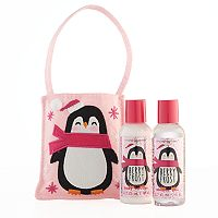 Simple Pleasures Berry Frost Body Lotion & Shower Gel Penguin Set