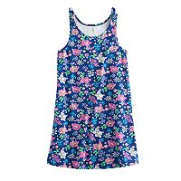 Girls 7-16 SO® Bow Strap Patterned Dress