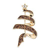 Dana Buchman Swirl Tree Pin