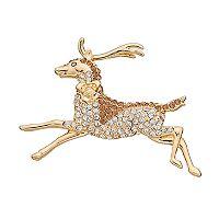 Dana Buchman Reindeer Pin