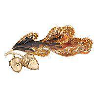 Dana Buchman Acorn Leaf Pin