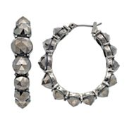 Simply Vera Vera Wang Studded Nickel Free U-Hoop Earrings