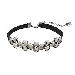 Simply Vera Vera Wang Faceted Choker Necklace