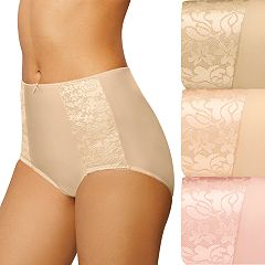 Bali 3-pack Double Support Brief Panties DFDBB3