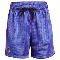 Girls 7-16 Under Armour She Plays We Win Soccer Shorts