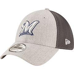 Men's New Era Milwaukee Brewers Heathered Neo Cap