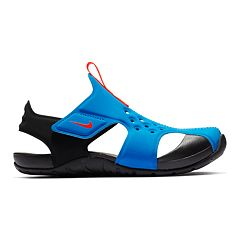 6610ac8b895b Nike Sunray Protect 2 Pre-School Kids  Sandals. Black Photo Blue Black ...