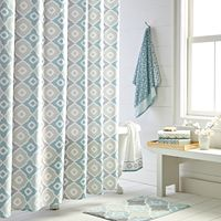 Toledo Printed Shower Curtain