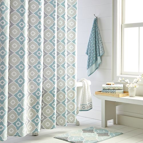Toledo Printed Shower Curtain