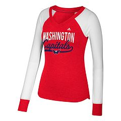 Women's adidas Washington Capitals Constructed Tee