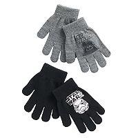 Boys 4-20 Star Wars 2-Pack Gloves Set