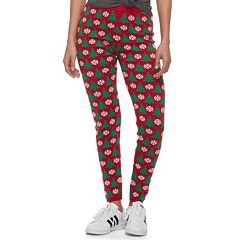 Juniors' It's Our Time Christmas Print Leggings