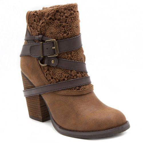 sugar Puzzled Women's High ... Heel Ankle Boots