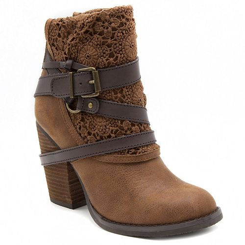 sugar Puzzled Women's High ... Heel Ankle Boots BTxoVrnhsY