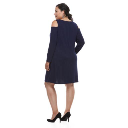 Plus Size Apt. 9® Cold Shoulder Dress