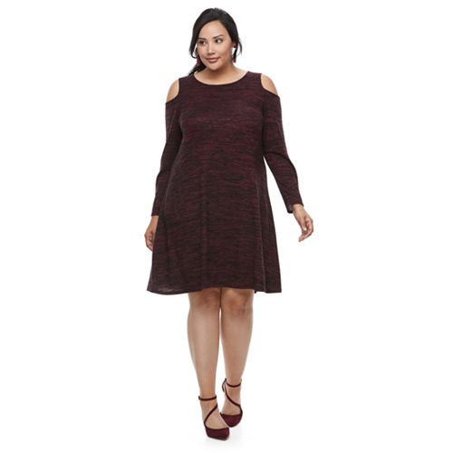 Plus Size Apt. 9® Cold Shoulder Dress