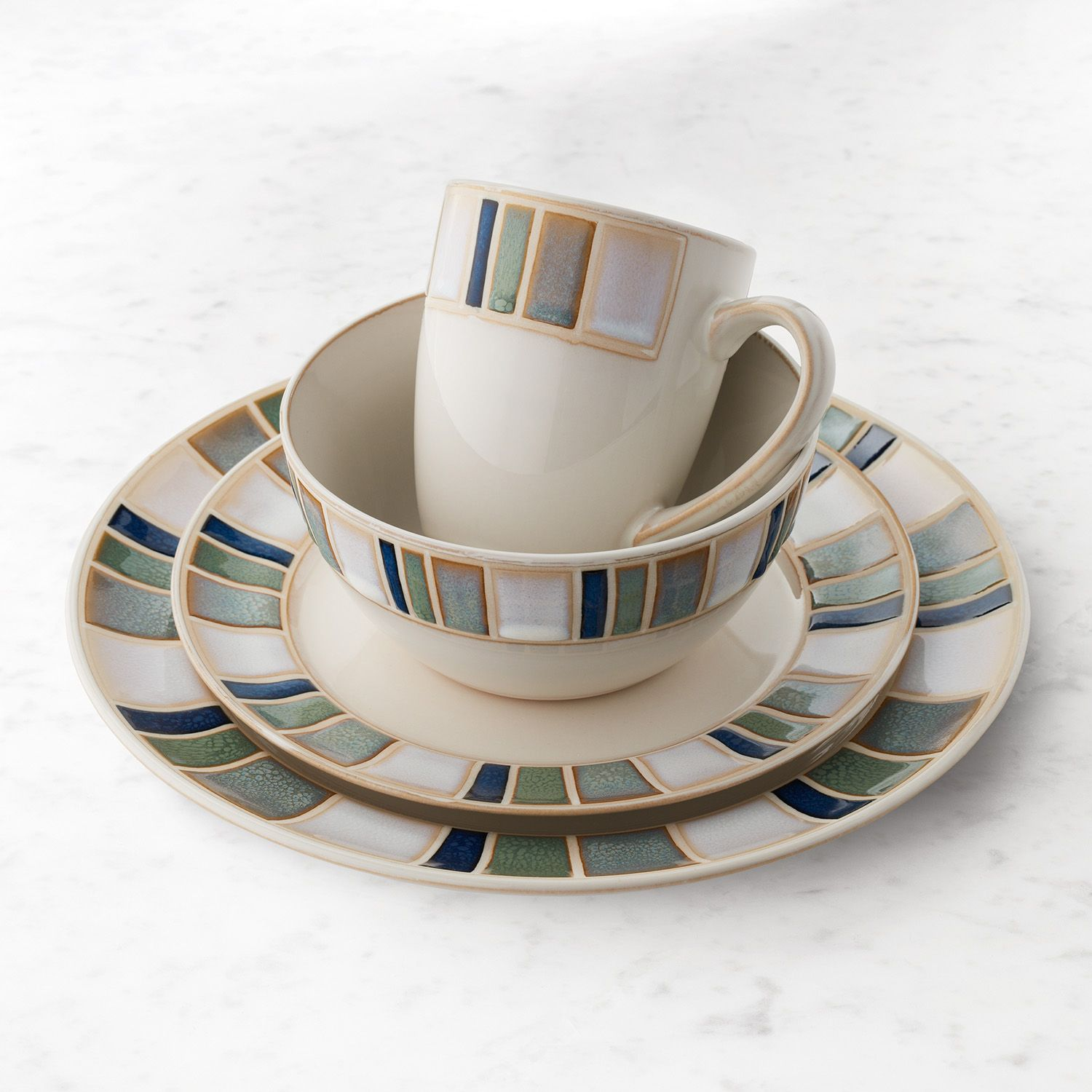 Dinnerware Set & Food Network™ Caprino 16-pc. Dinnerware Set