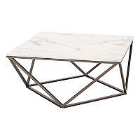 Zuo Modern Tintern Geometric Faux Marble Coffee Table