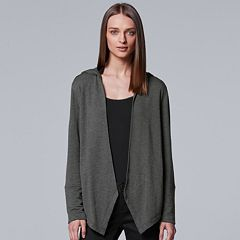 Women's Simply Vera Vera Wang Simply Separates Flyaway Cardigan