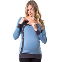 Maternity Pip & Vine by Rosie Pope Snap Nursing Sweater