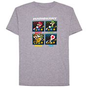 Boys 8-20 Super Mario Bros. Race Box Tee