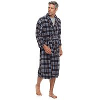 Big & Tall Residence Plush Fleece Shawl-Collar Robe